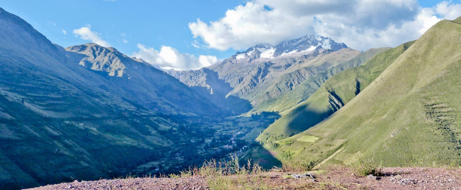 Montañas en Perú.